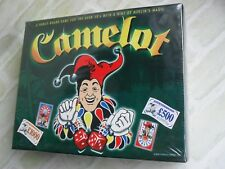 CAMELOT - WITH A HINT OF MERLIN'S MAGIC BOARD GAME - 1999 - NEW SEALED BOX