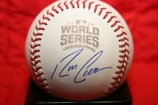 RON COOMER AUTOGRAPHED SIGNED 2016 WORLD SERIES BASEBALL CHICAGO CUBS COA