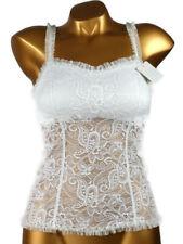 ARIANNE - TAILLE S - Haut Bustier dentelle Mariage 5013 JULIE, Coloris : Blanc
