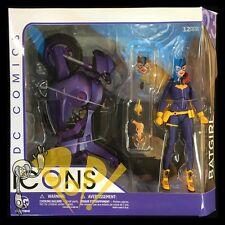 """DC Icons BATGIRL &  Motorcyle BURNSIDE 6"""" Action Figure DC Collectibles NEW!"""