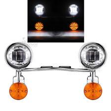 Passing Spotlight Turn Signals Light Bar For Honda VTX 1300 C R S RETRO Cruiser
