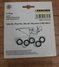 Pack Set of (5) # 2.880-296.0 Karcher O-Ring Pressure Washer Seal - Genuine