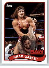 2018 WWE Heritage #21 Chad Gable