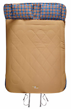 New Oz Trail Nullabor double sleeping bag with pillows SBJ-NUHD-C