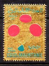 Mauritania, 1970, Sc. #C104, Gold series: Apollo 13 Crew Space, MLH.