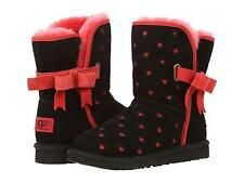 UGG AUSTRALIA KIDS GIRLS BOOTS JOLEIGH BOW BLACK SIZE 13 NEW