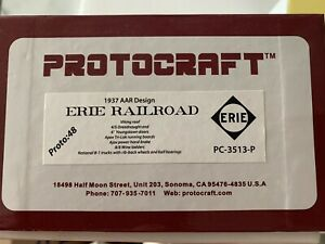 Protocraft, Proto 48, 1937 AAR Design, Erie Railroad Car, PC-3513-P, New in Box