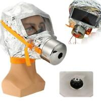 Emergency Escape Hood Oxygen  Respirator Fire Smoke Protective Supply