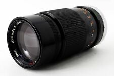 [Exc+++] Canon FD 200mm f/4 S.S.C. MF Lens from Japan #5926