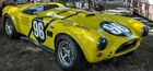 Ford Race Car Shelby Cobra F1 12GT Racing Classic Racer40Hot Rod24 Metal Model18