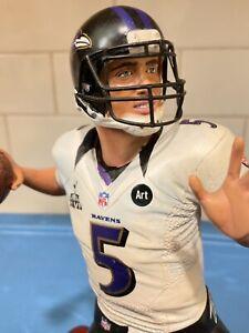 Danbury Mint  -  Baltimore Ravens Joe Flacco
