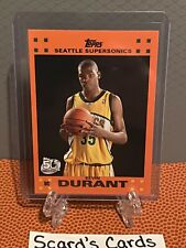 2007 Topps Kevin Durant ROOKIE Orange Border card # 2 of 14 🔥RARE🔥📈📈📈