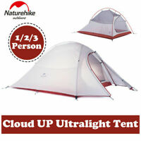 Naturehike Ultralight Backpacking Camping Hiking Tent 4 Season 2/3 Person