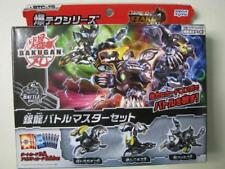 Bakugan baku-tech dragaon S Munikis S van Falco S set BOX Japan IMPORT SEGA TOYS