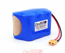 LiFe Battery 6.4V 9900mAh w/PCM in DIY Sealed Lead Acid 6V UPS Scales Cell 2S3PZ