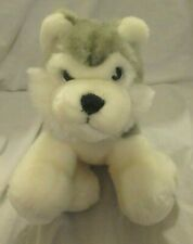 Ganz Husky Puppy Dog Heritage Collection Floppy Plush Stuffed Animal Toy Wolf