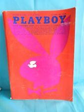 Vintage Playboy December 1971 Men's Magazine - VERY GOOD!