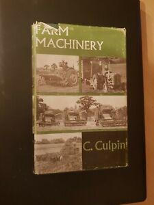 Farm Machinery Book 1960 Book Claude Culpin. Massey Ferguson Ford tractor