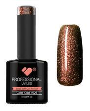 1626 VB Line Red Brown Chameleon Metallic - gel nail polish - super sale!