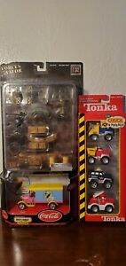 FORCES OF VALOR   UNIMAX  Accessories Pack and Tonka toy set and Matchbox Car