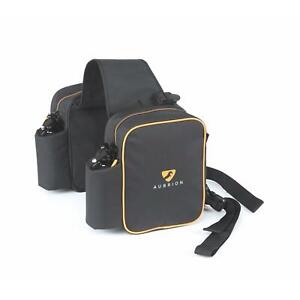 Shires Aubrion Saddle Panniers in Black onesize