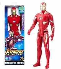 Iron Man Action Figure Marvel Avengers Infinity War Power FX 12 Inch Toy Hasbro