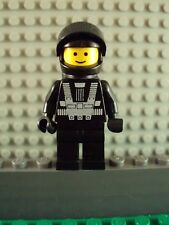 Lego Minifig ~ Vintage/Classic Blacktron 1 Astronaut Spaceman With Airtank #tg