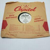 78 RPM MEL BLANC Morris / Lord Bless His Soul - Novelty - PROMO VG+