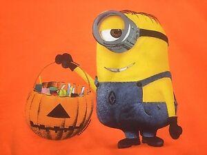 Junior Halloween Sweatshirt - Minion w Jack o Lantern - You Pick - Novelty Party