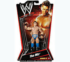 "WWF WWE TNA Wrestling THE MIZ Boxed 6"" figure, Mattel Series 6 RARE"