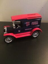 MINNESOTA TWINS VINTAGE TRUCK BANK, AMERICAN PASTIME