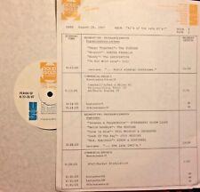 RADIO SHOW: 8/28/87 #1 LATE 60's: STRAWBERRY ALARM CLOCK, OTIS REDDING, TURTLES