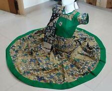Beautiful Custom stitched Cotton Kalamkari Anarkali Kurti !! Size 40