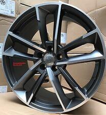 "20"" Wheels fit Audi Style S4 A4 A5 A6 A8 S6 S7 S8 Q5 A7 RS6 Quatro Sportback Rim"
