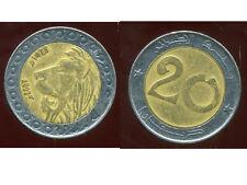 ALGERIE  ALGERIA 20 dinars 2007  ANM  ( 1 )