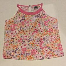 Maggie & Zoe Girls Floral Tank Top Shirt Sz 6X Sleeveless Stretch Pretty! NWOT