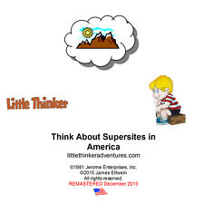 Little Thinker - Think About Supersites in America - New Cd remstrd fm cassette