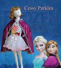 Purple Cape Disney FROZEN Princess Anna Elsa Queen Costume Accessory S M L AU