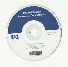 CD – HEWELLET PACKARD - HP I/O AND SECURITY SOFTWARE AND DOCUMENTATION