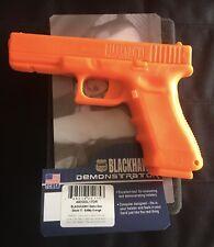 Blackhawk! Demonstrator, Glock 17, Safety Orange.