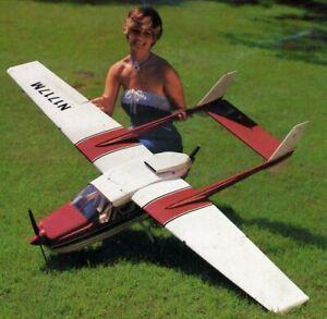 "Vintage Cessna Skymaster 77"" Wingspan by Royal Marutaka RC Airplane Kit Plans"