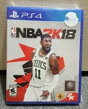 NBA 2K18 Playstation 4  Game Brand New Factory Sealed for Play Station 4 PS4