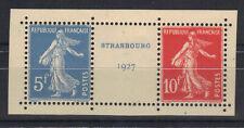 France 1927 Yvert Paire 242A neuve** MNH issue du BF2