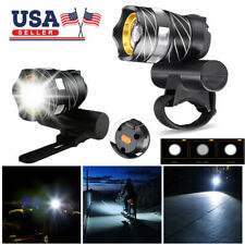 Rechargeable Bicycle HeadLight Bike Helmet Front light 15000LM XM-L T6 LED MTB