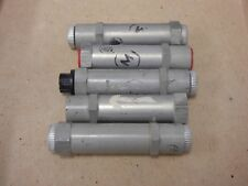 Lot of 5 ALUMINUM FREE FLOW HYDRAULIC CHECK VALVE  AN-4 LOWRIDER AIRCRAFT