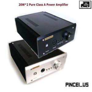20W*2 Pure Class A Power Amplifier HiFi Headphone Amplifier Finished L.PassAm Se