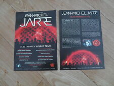 JEAN-MICHEL JARRE - lovely colour UK tour flyer (MINT)