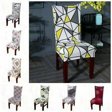 Universal Stretch Full Seat Chair Covers Dining Room Wedding Banquet Slipcovers