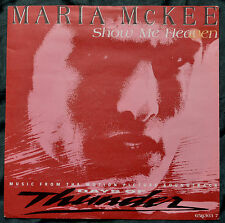 """Maria McKee – Show Me Heaven 7""""from the film """"Days Of Thunder""""– 656303 7 – Ex"""