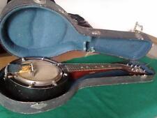 Antico Banjo Marcelli con custodia originale